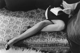 Flores y Palabras: Cartier-Bresson: Las piernas de Martine